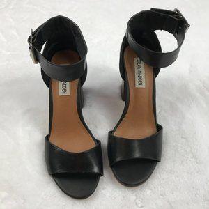 Steve Madden Estoria Sandal Black Size 6.5